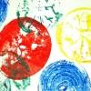 Fruit and Vegi Stamp Art