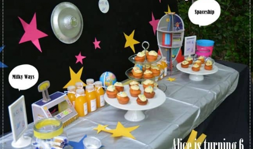 Alice's Space themed Party – Turning 6