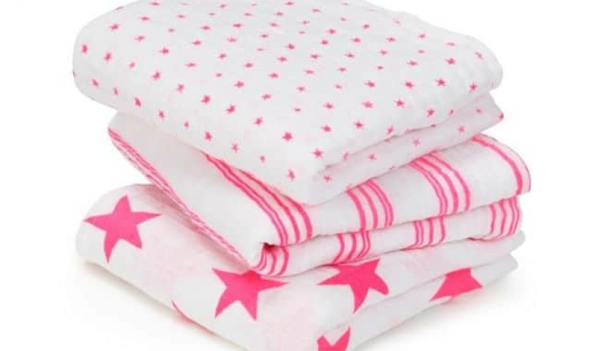 Love for Swaddles – New Fluro colours by Aden & Anais