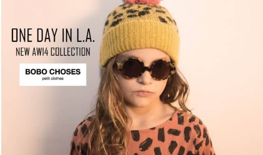 A day in L.A – New AW14 Collection by Bobo Choses