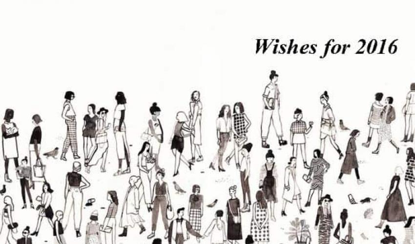 Ευχές για το 2016 – Ομάδα Κοπέρνικος και Ελένη Σβορώνου