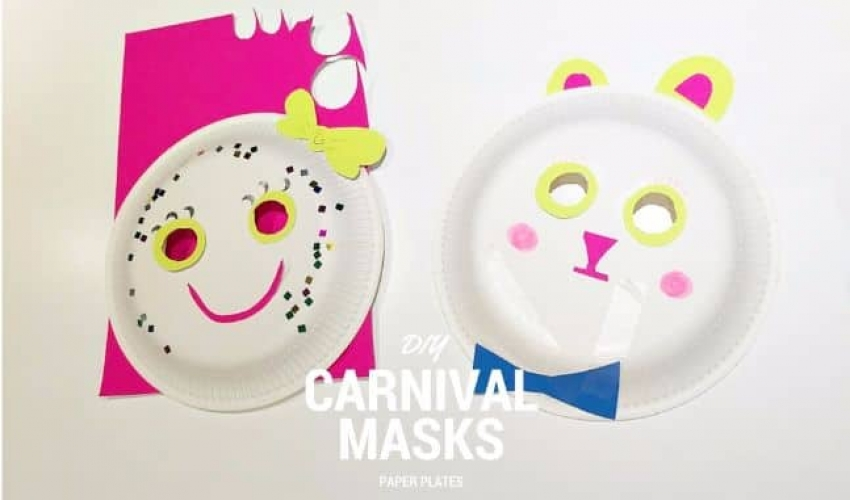 DIY Καρναβαλική Μάσκα