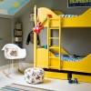 Κίτρινο χρώμα στο παιδικό δωμάτιο – Τολμάς;