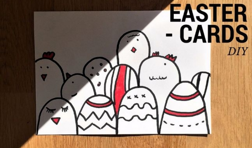 Easter Cards – DIY