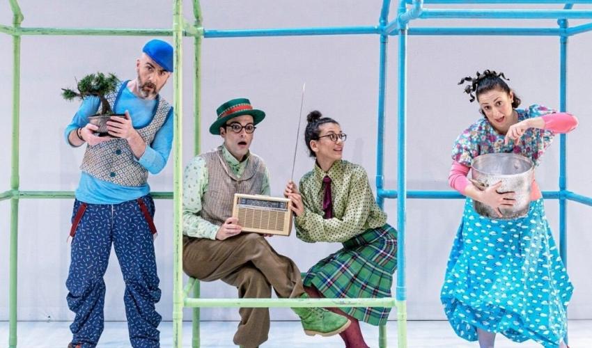 Δίπλα Δίπλα – Η νέα παιδική παράσταση στο Εθνικό Θέατρο