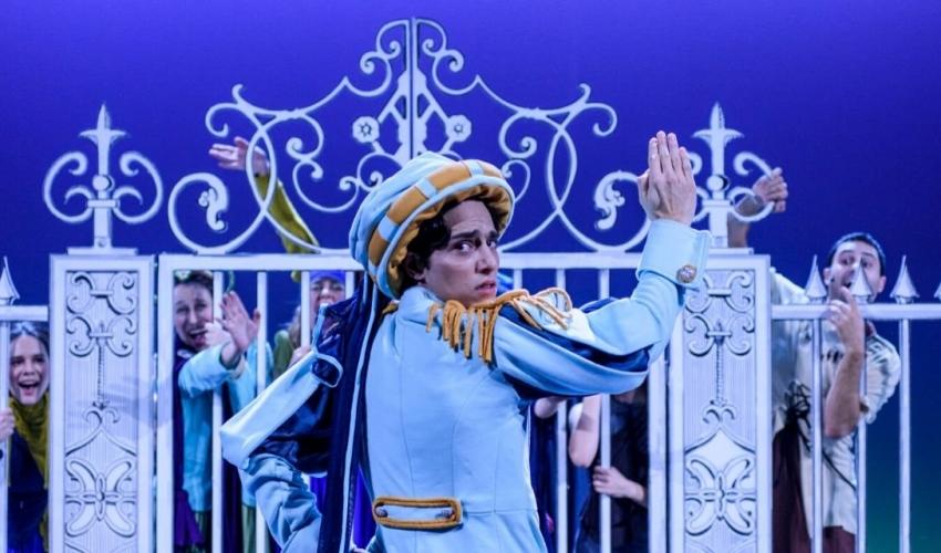 """Διαδικτυακή προβολή της παιδικής παράστασης """"Ο πρίγκιπας και ο Φτωχός"""" από το Εθνικό Θέατρο"""