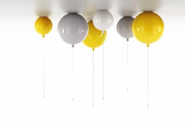 Φωτίστε το δωμάτιό τους με…μπαλόνια!