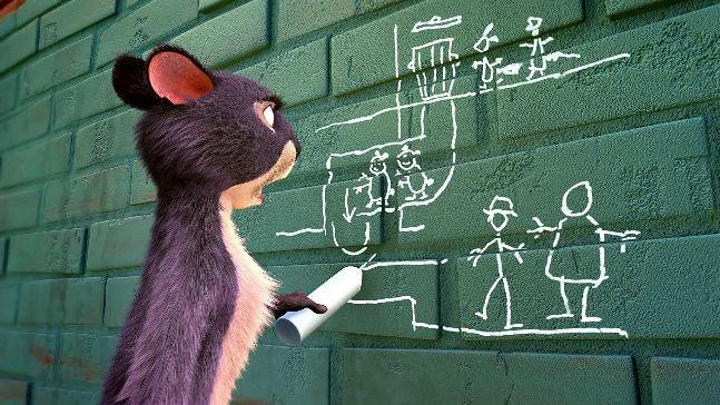 Ένας σκίουρος σούπερ ήρωας!