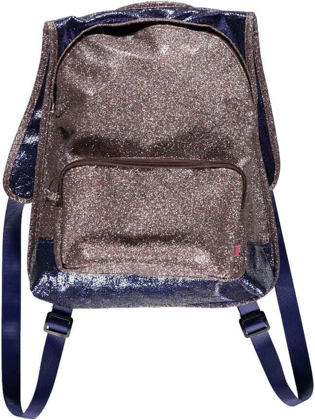 glitter back pack
