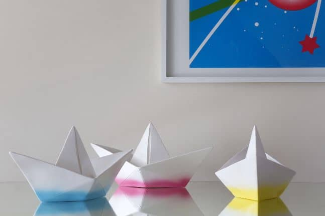 paper boat lamp lifestyle 3