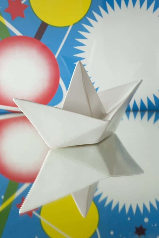 paper boat lamp lifestyle