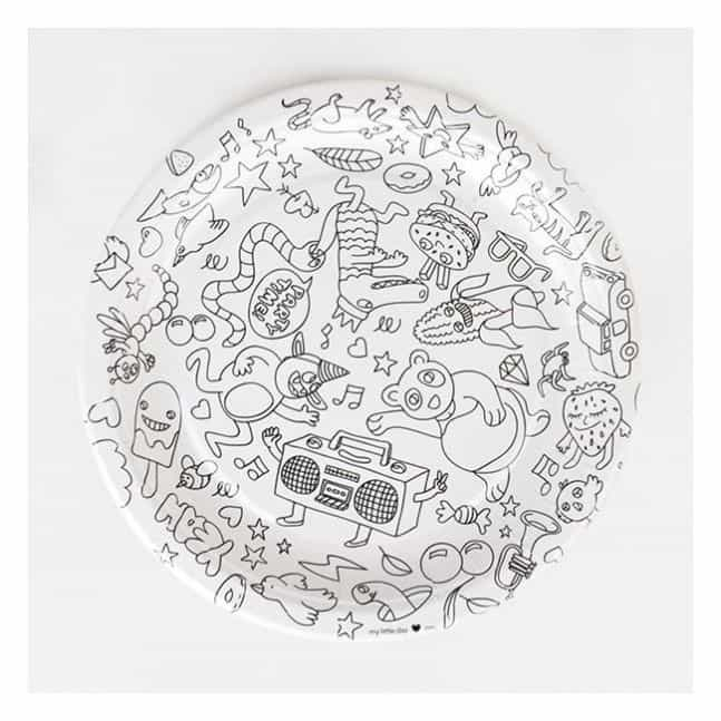 paper plates OMY