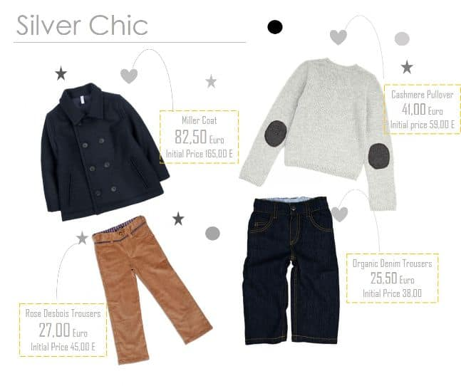 Silver Chic Look for Boys