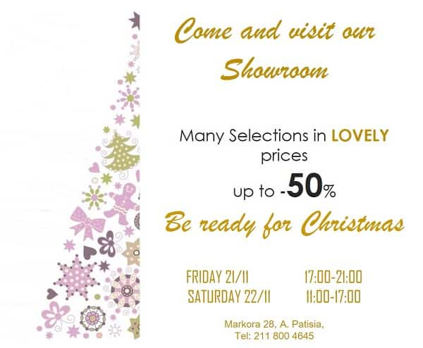 Invitation to our Showroom – Cool prices