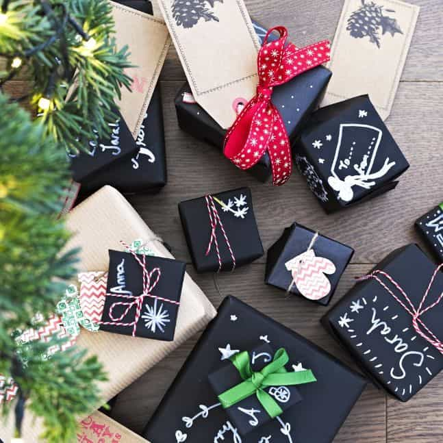 chalkboard wrapping paper 4