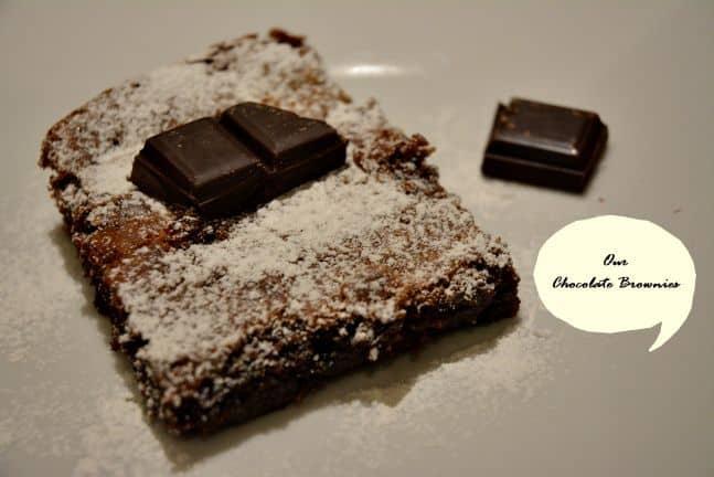Φτιάξαμε Chocolate Brownies