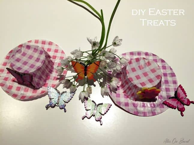 DIY Easter Hat Favors