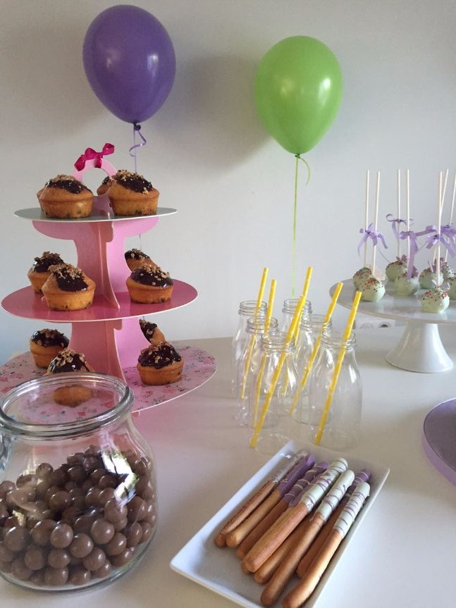 tinker bell party candy bar
