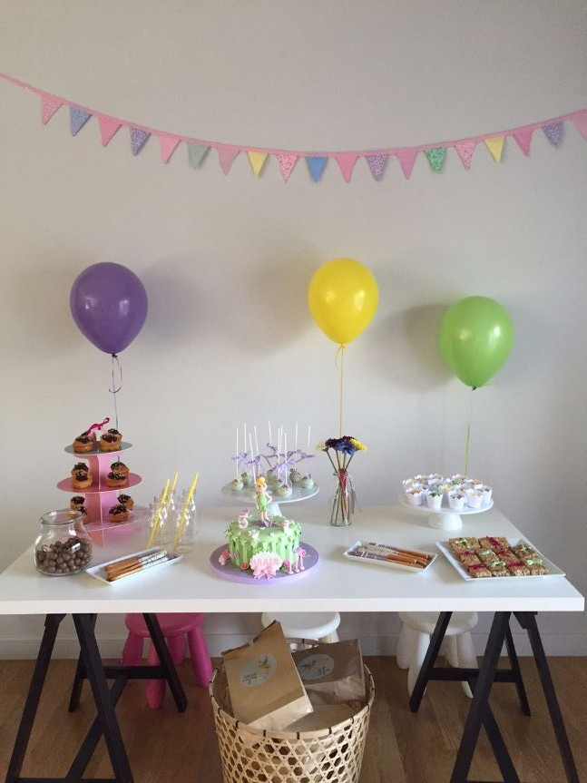tinkerbell party deco