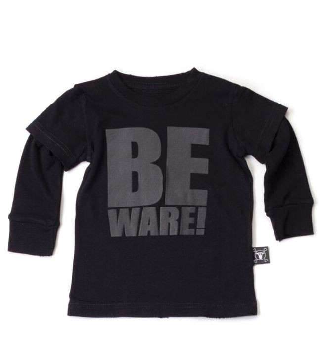 BE WARE T-SHIRT_packshot
