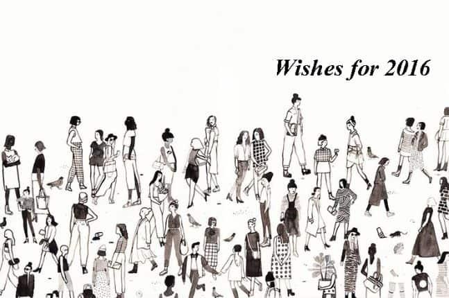 Ευχές για το 2016 – Ιωάννα, Κική και Κατερίνα.