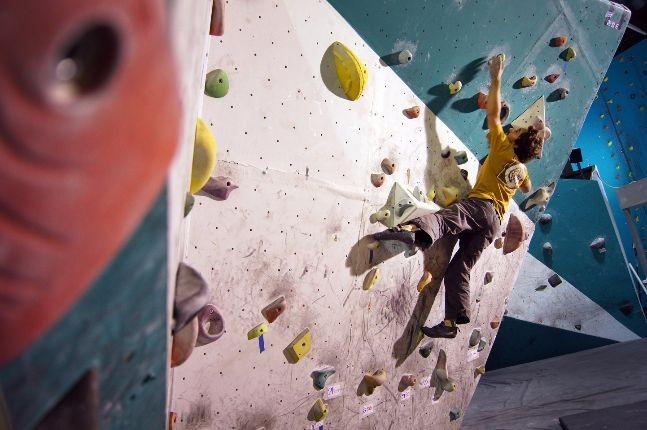 indoor climbing OAKA