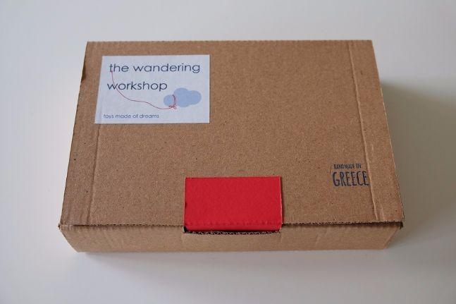 the wandering shop blog packaging