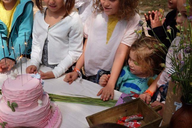 woodland party_cake 2