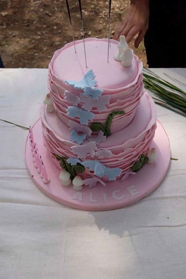 woodland party_cake 3