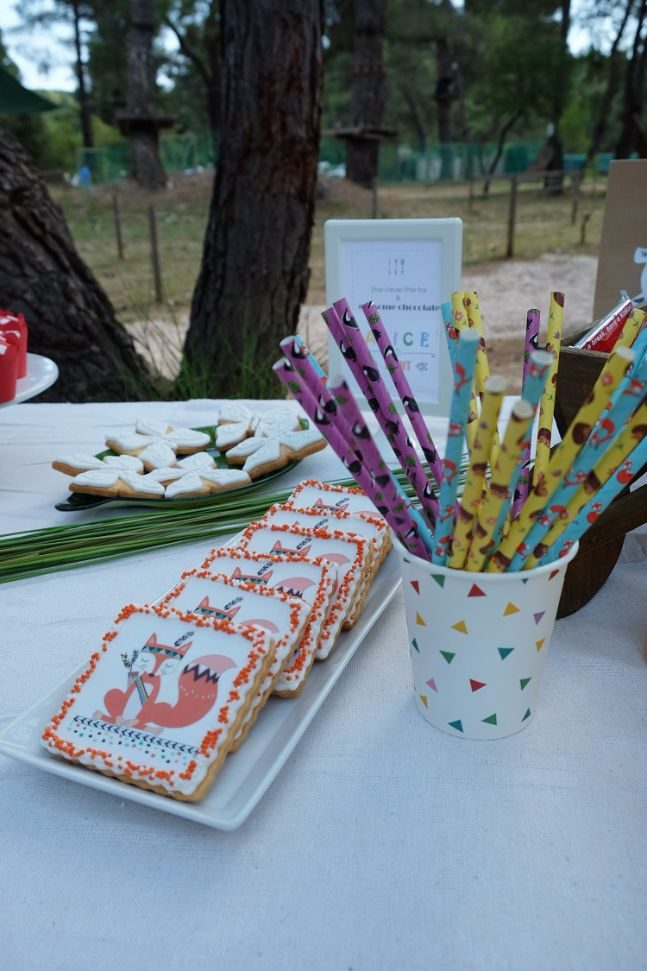 woodland party_candy bar 2