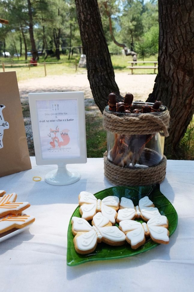 woodland party_candy bar 5