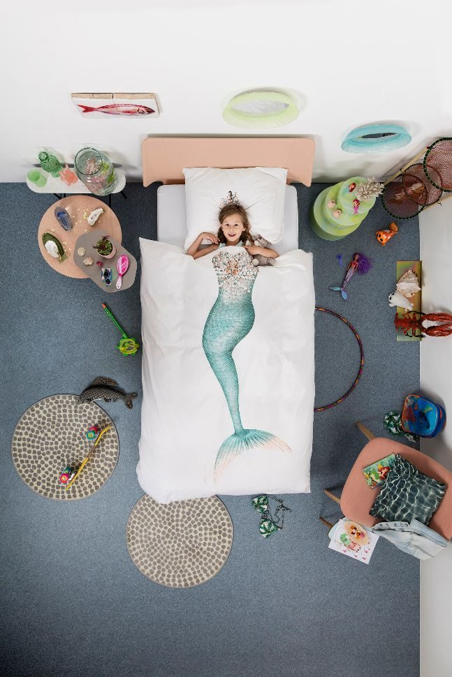 snurk duvet_mermaid