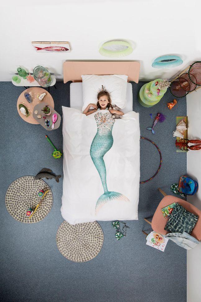 snurk duvet_mermaid