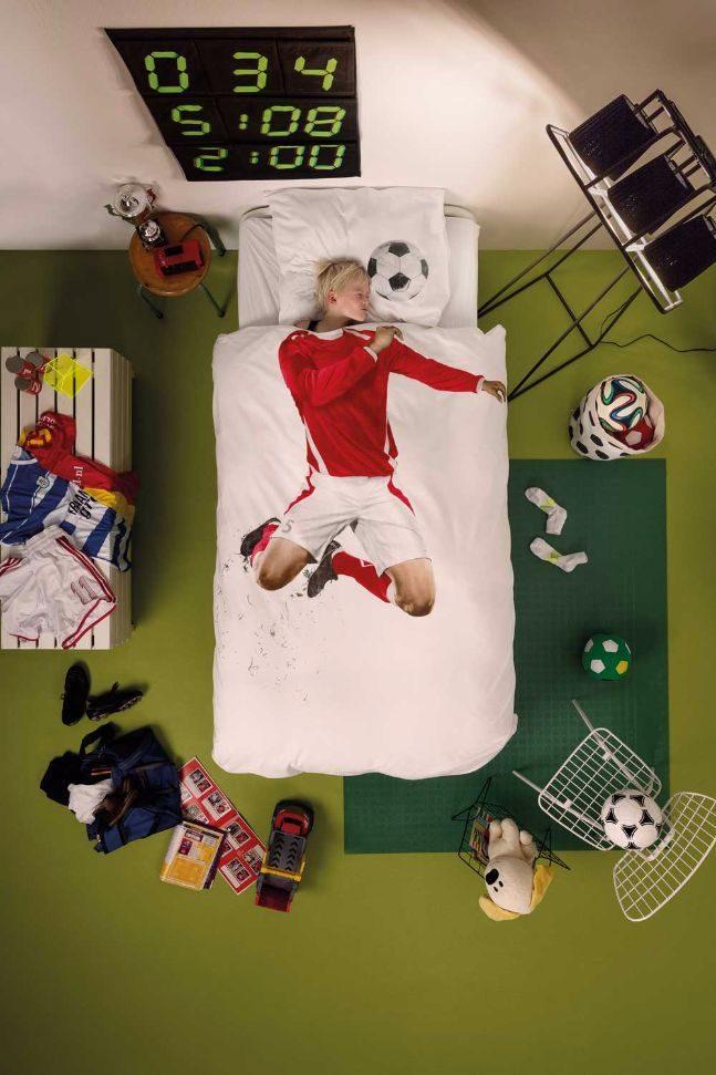 snurk duvet_soccer champ