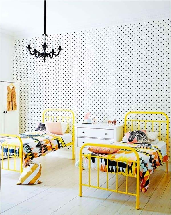 yellow in kids room/κίτρινο χρώμα