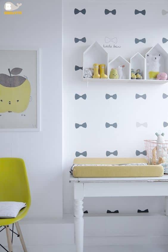 κίτρινο στο παιδικό δωμάτιο
