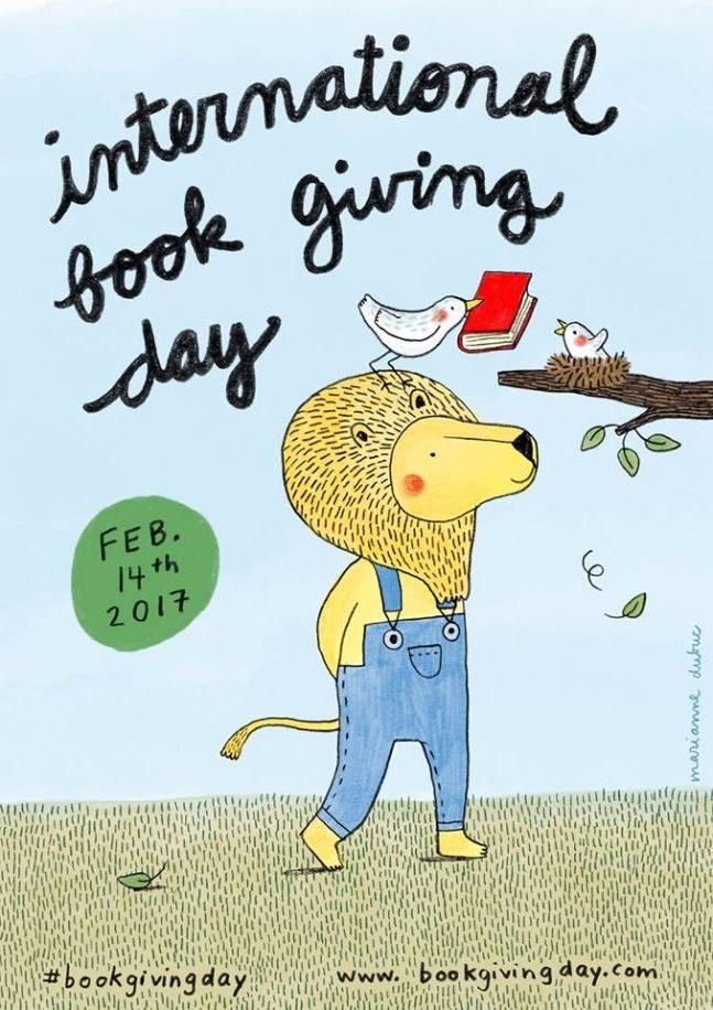 παγκόσμια ημέρα χάρισε ένα βιβλία