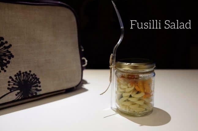 Σαλάτα με Fusilli και λαχανικά – Σνακ για το σχολείο