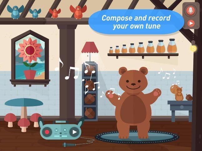 app μουσικής για παιδιά