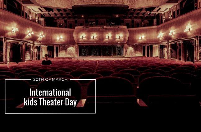 Παγκόσμια Ημέρα Παιδικού και Εφηβικού Θεάτρου