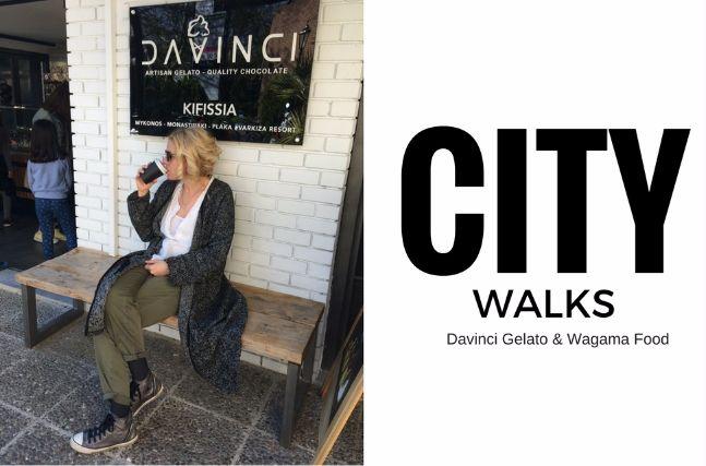 City Walks – Φαγητό στο Wagamama και παγωτό στο DaVinci