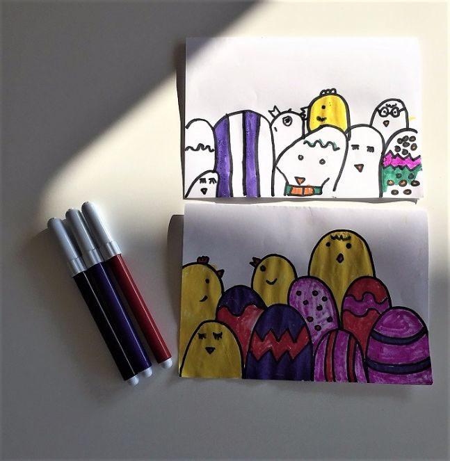 Easter cards DIY