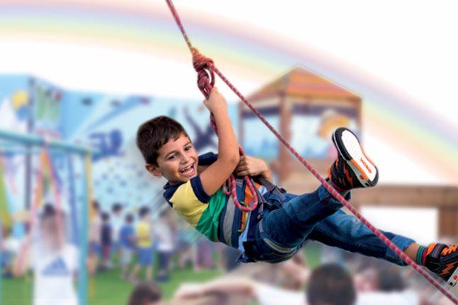 Summer camp – OAKA indoor climbing