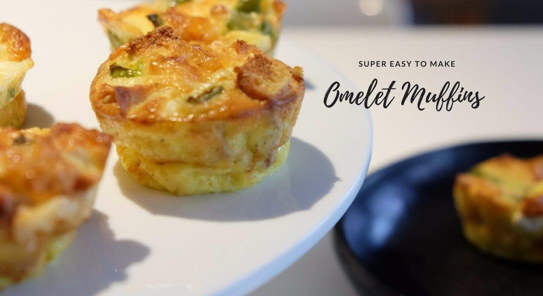 Omelet Muffins – ή αλλιώς muffins με ότι έχω