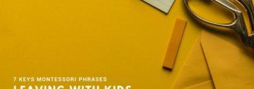 7 εκφράσεις της Μοντεσσοριανής εκπαίδευσης για εφαρμογή στο σπίτι