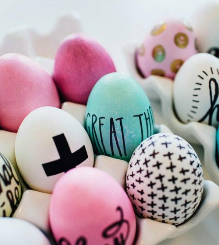 πασχαλινά αυγά ιδέες