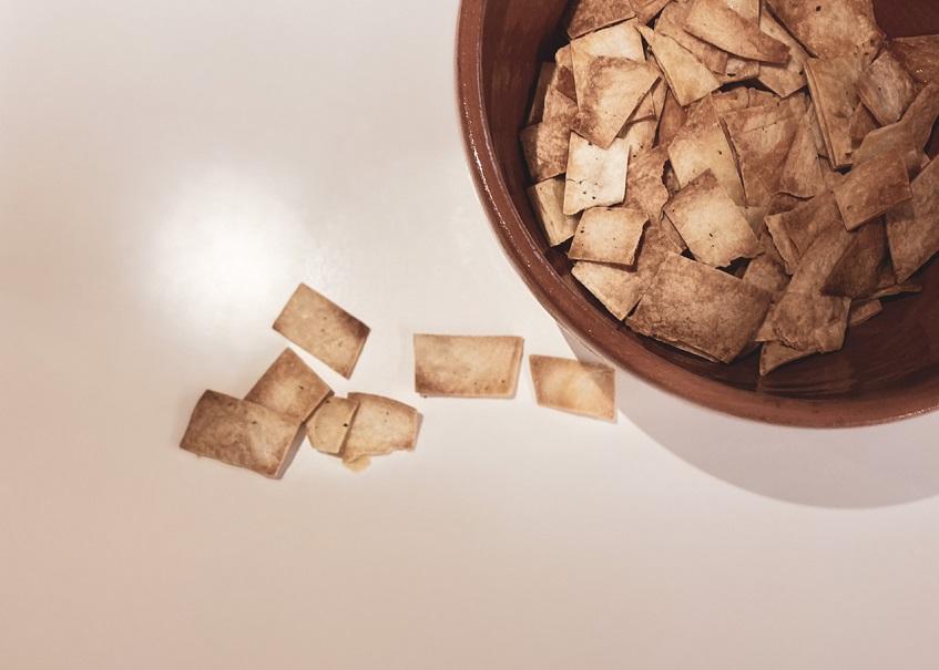 Σπιτικά τσιπς tortillas