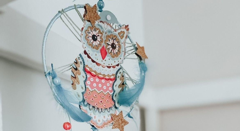 DIY Ονειροπαγίδα Κουκουβάγια